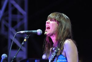 Feist at Coachella, by Jason Persse
