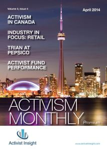 Activism Monthly, April 2014